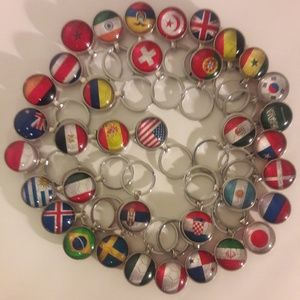 Keychain Soccer Countries